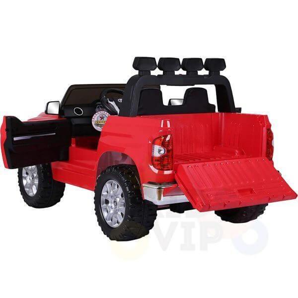 kidsvip 12v toyota tundra kids ride on car 2 seater red 14