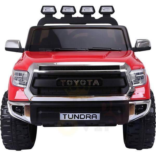 kidsvip 12v toyota tundra kids ride on car 2 seater red 2
