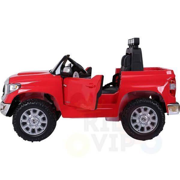 kidsvip 12v toyota tundra kids ride on car 2 seater red 4