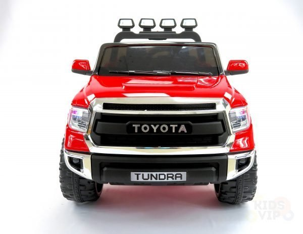 kidsvip 12v toyota tundra kids ride on car 2 seater red 6 scaled