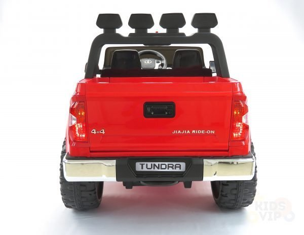 kidsvip 12v toyota tundra kids ride on car 2 seater red 8 scaled