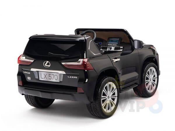 kidsvip lexus kids ride on car 2 seater black 11