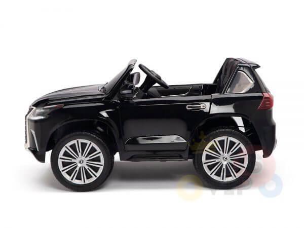 kidsvip lexus kids ride on car 2 seater black 18