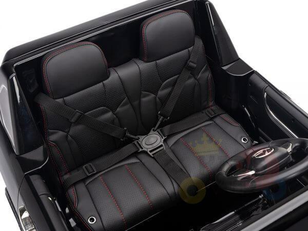 kidsvip lexus kids ride on car 2 seater black 2
