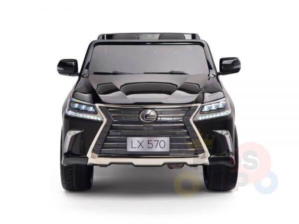 kidsvip lexus kids ride on car 2 seater black