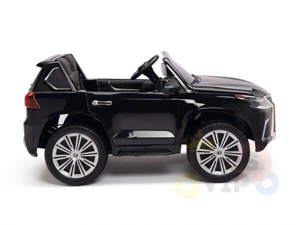 kidsvip lexus kids ride on car 2 seater black 8