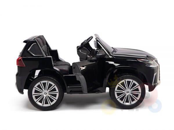 kidsvip lexus kids ride on car 2 seater black 9