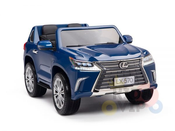 kidsvip lexus kids ride on car 2 seater blue15