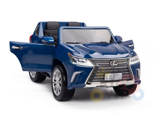kidsvip lexus kids ride on car 2 seater blue18