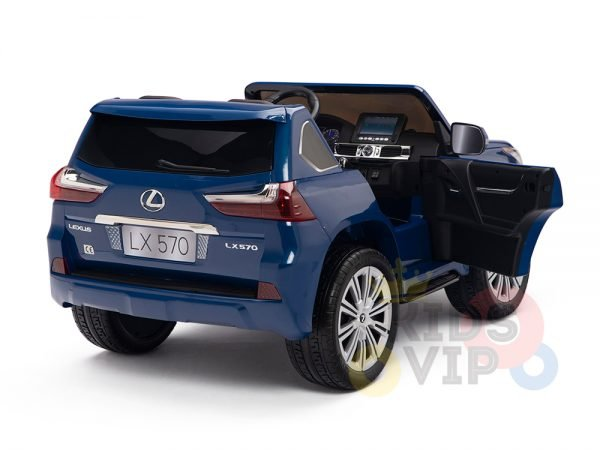 kidsvip lexus kids ride on car 2 seater blue3