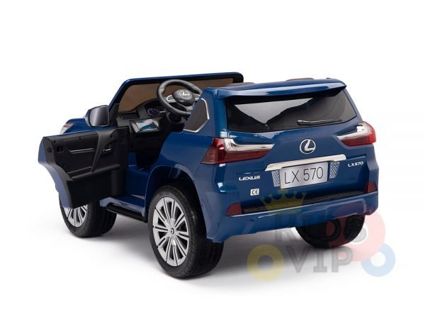 kidsvip lexus kids ride on car 2 seater blue7