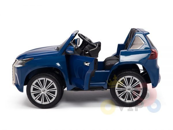 kidsvip lexus kids ride on car 2 seater blue8