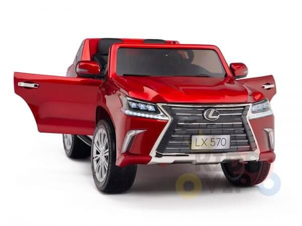 kidsvip lexus kids ride on car 2 seater red 10