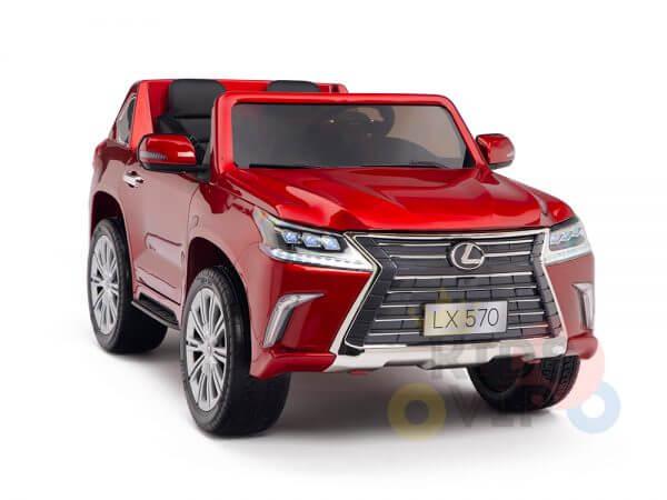 kidsvip lexus kids ride on car 2 seater red 12