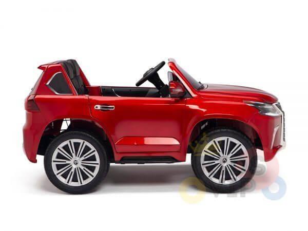 kidsvip lexus kids ride on car 2 seater red 16