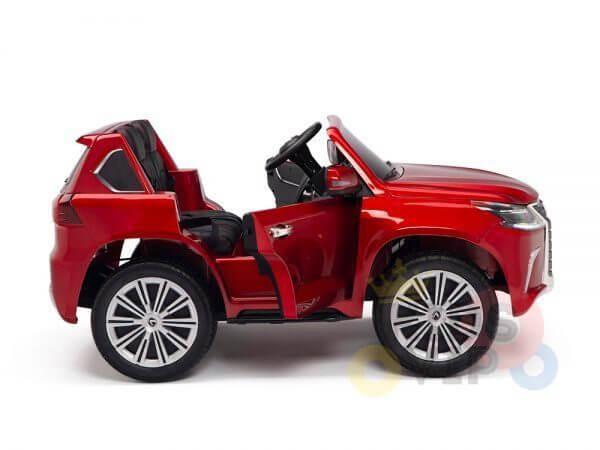 kidsvip lexus kids ride on car 2 seater red 19