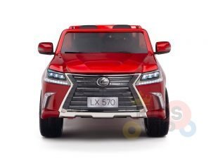 kidsvip lexus kids ride on car 2 seater red 2