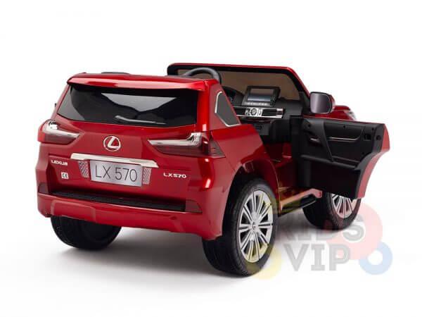 kidsvip lexus kids ride on car 2 seater red 20