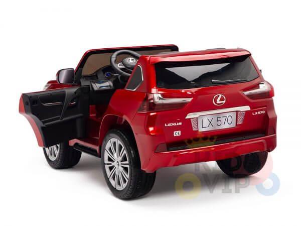 kidsvip lexus kids ride on car 2 seater red 28