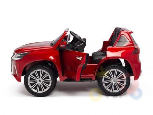 kidsvip lexus kids ride on car 2 seater red 31
