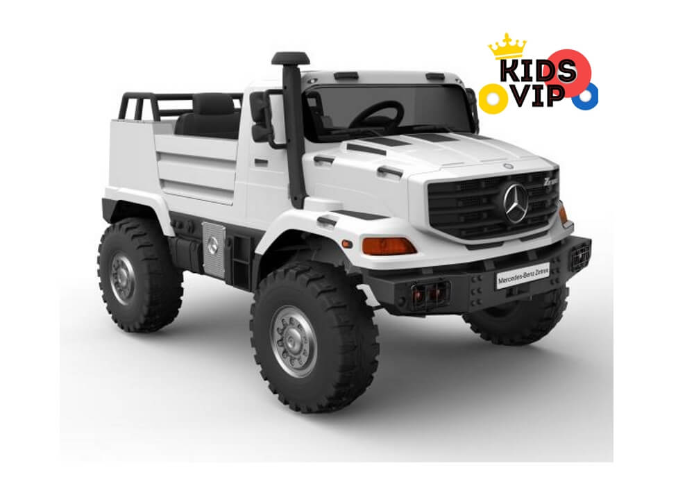 2 Seats Official Eva Extreme Edition 12v Mercedes-Benz Unimog Zetros with  Remote Control - White