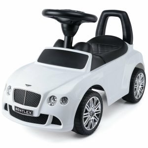 KIDSVIP BENTLEY KIDS PUSH CAR RIDE ON TOY WHITE 9