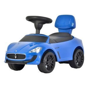 KIDSVIP MASERATI GRANCABRIO KIDS PUSH CAR RIDE ON TOY BLUE 5