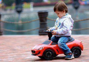 KIDSVIP MASERATI GRANCABRIO KIDS PUSH CAR RIDE ON TOY RED 3