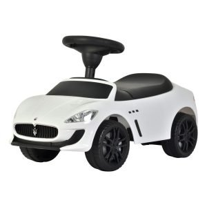 KIDSVIP MASERATI GRANCABRIO KIDS PUSH CAR RIDE ON TOY WHITE 6