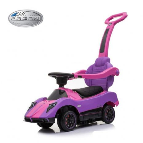 KIDSVIP PAGANI ZONDA MCLAREN MC LAREN P1 KIDS PUSH CAR RIDE ON PINK TOY 2