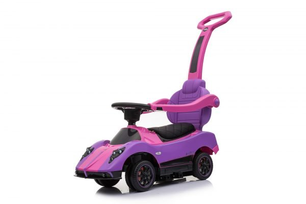 KIDSVIP PAGANI ZONDA MCLAREN MC LAREN P1 KIDS PUSH CAR RIDE ON PINK TOY 3