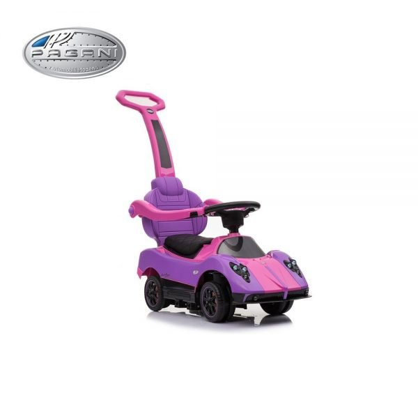 KIDSVIP PAGANI ZONDA MCLAREN MC LAREN P1 KIDS PUSH CAR RIDE ON PINK TOY 4