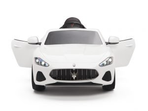 KIDSVIP MASERATI KIDS TODDLERS RIDE ON CAR 12V WHITE 1