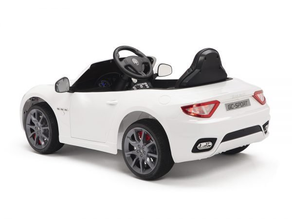 KIDSVIP MASERATI KIDS TODDLERS RIDE ON CAR 12V WHITE 13