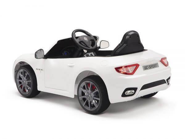 KIDSVIP MASERATI KIDS TODDLERS RIDE ON CAR 12V WHITE 13