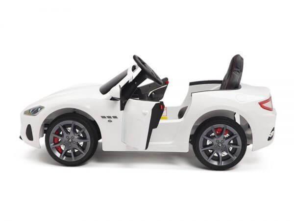 KIDSVIP MASERATI KIDS TODDLERS RIDE ON CAR 12V WHITE 15