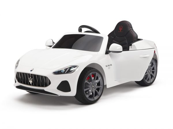 KIDSVIP MASERATI KIDS TODDLERS RIDE ON CAR 12V WHITE 18