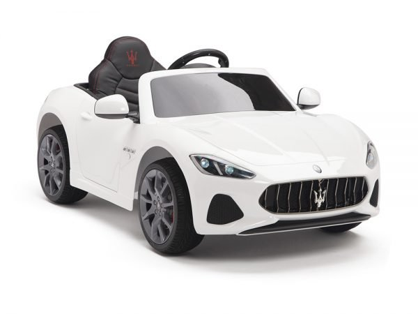 KIDSVIP MASERATI KIDS TODDLERS RIDE ON CAR 12V WHITE 3