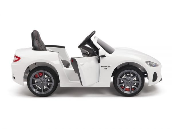 KIDSVIP MASERATI KIDS TODDLERS RIDE ON CAR 12V WHITE 5