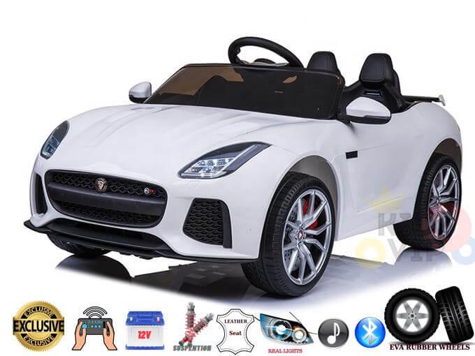 Officially Licensed Jaguar F Type 12V Kids Ride On Car