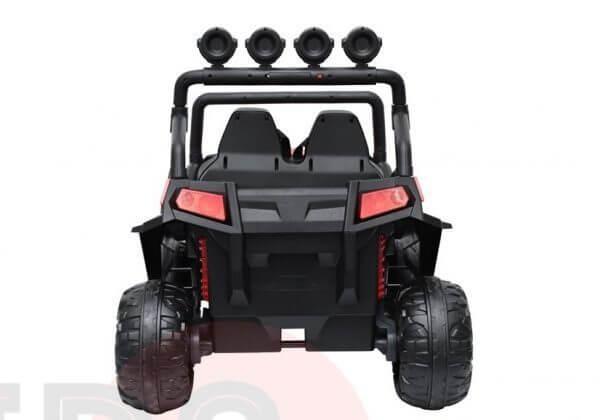 kidsvip 2 seater ride on utv buggy 2x12v rubber wheels toddlers kids white 19