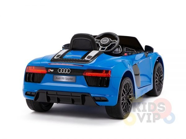 kidsvip audi r8 toddlers kids ride on caa 12v blue 10