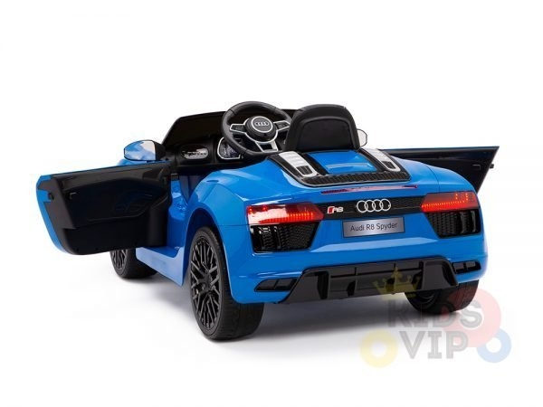 kidsvip audi r8 toddlers kids ride on caa 12v blue 15