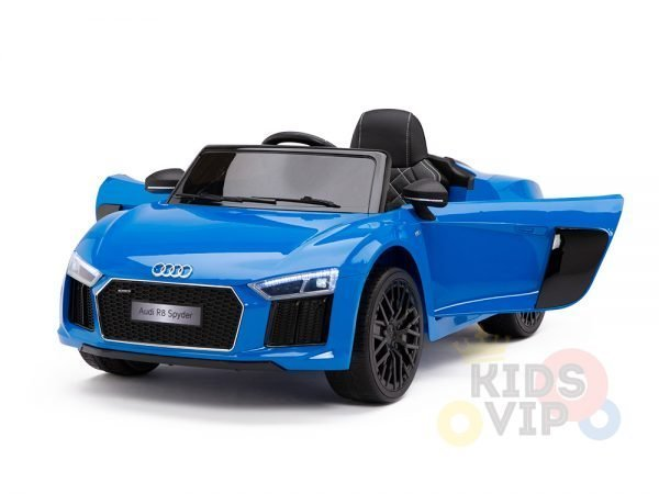kidsvip audi r8 toddlers kids ride on caa 12v blue 19 1
