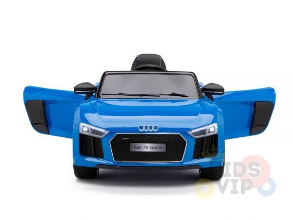 kidsvip audi r8 toddlers kids ride on caa 12v blue 2 1