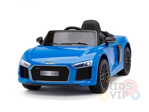 kidsvip audi r8 toddlers kids ride on caa 12v blue 21 1