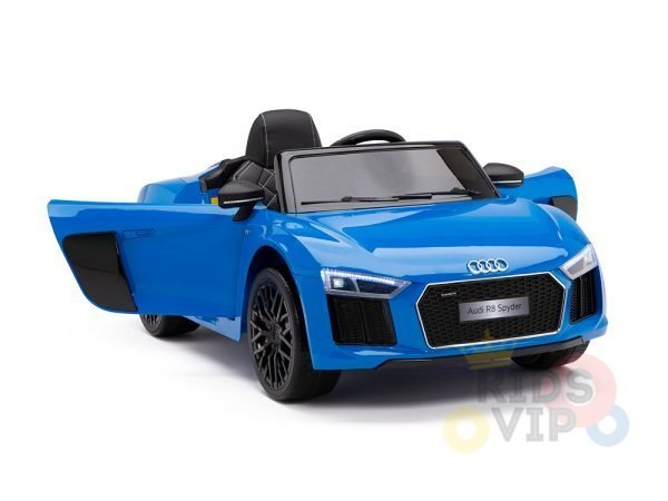 kidsvip audi r8 toddlers kids ride on caa 12v blue 4 1