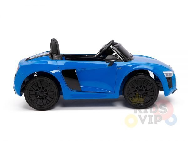kidsvip audi r8 toddlers kids ride on caa 12v blue 7 1
