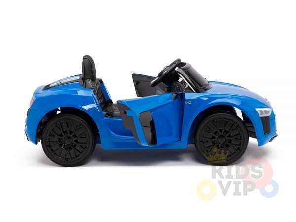 kidsvip audi r8 toddlers kids ride on caa 12v blue 8