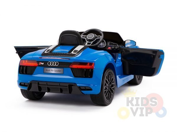 kidsvip audi r8 toddlers kids ride on caa 12v blue 9 1